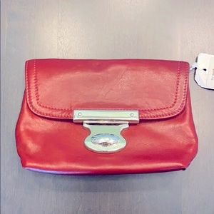 NEW Marc Jacobs leather clutch
